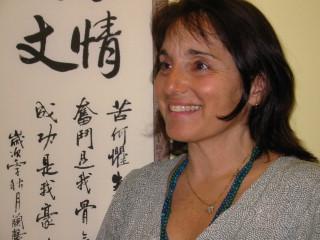 Phyllis Shapiro at work